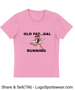 OLD FAT..GAL Tee Design Zoom